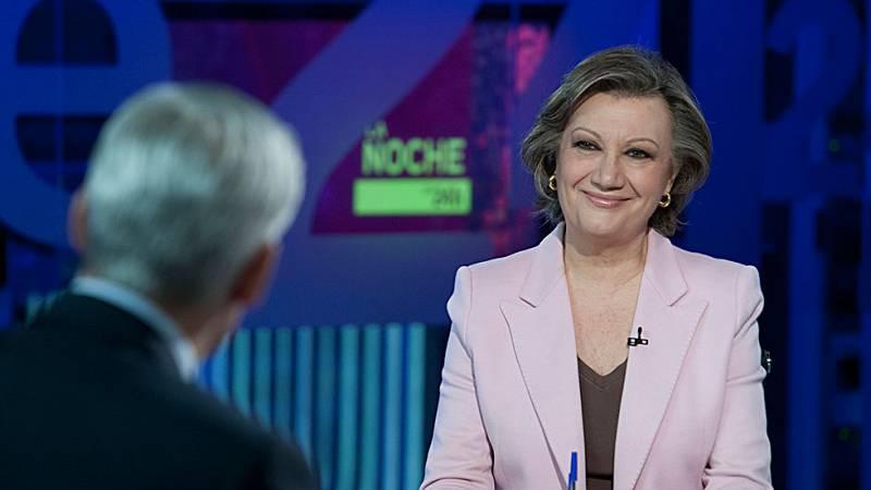 La presidenta del Comité Organizador del Congreso del PP, Luisa Fernanda Rudi, ha visitado 'La Noche en 24 Horas'