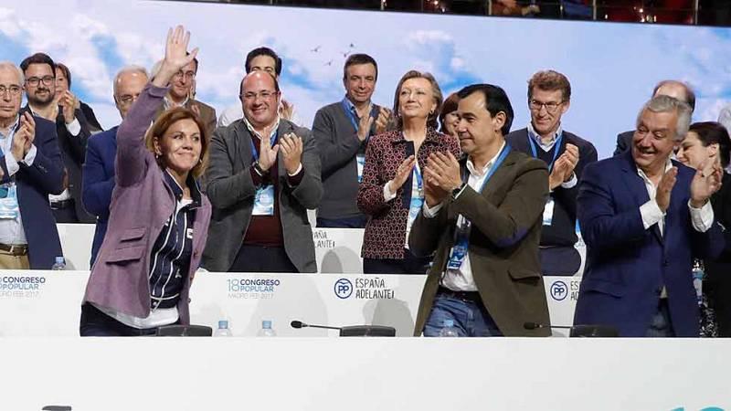 Rajoy mantiene a Cospedal como secretaria General y elige a Maillo coordinador general