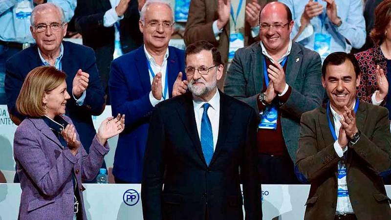 El presidente del PP apuesta por la continuidad de su equipo