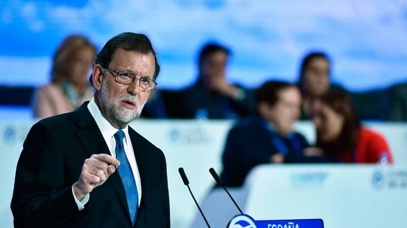 Rajoy enarbola la unidad e independencia del PP