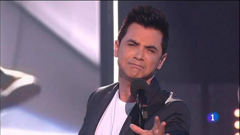 Objetivo Eurovisión - David Civera canta 'Dile que la quiero'