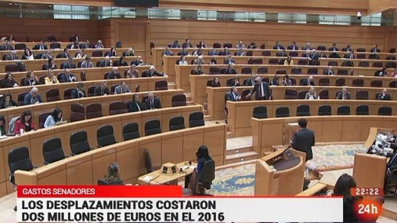 Parlamento - Conoce el Parlamento - Gastos de viajes internacionales del Senado - 11/02/2017