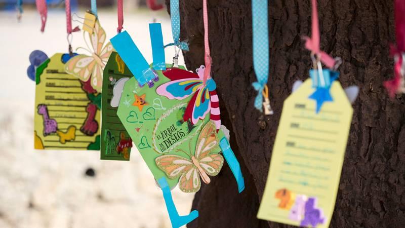 Los deseos de los niños se cumplirán en 'El árbol de los deseos'