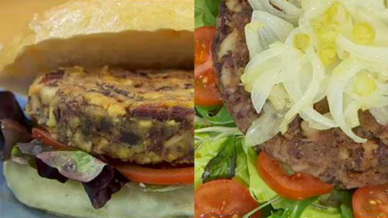 Torres en la cocina - Hamburguesa vegetal, versiones javier y sergio