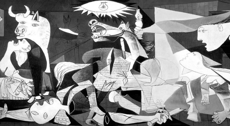 Marlango e Iván Ferreiro tocan ante el Guernica en una iniciativa de Radio 3 en el Reina Sofía
