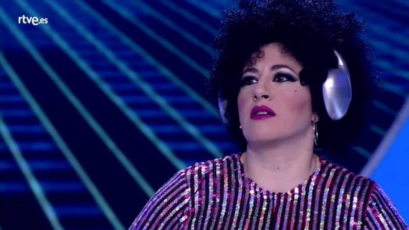 """El gran reto musical - La Terremoto de Alcorcón """"te está amando locamente"""""""