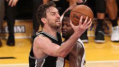 Pau Gasol lidera a los Spurs en su victoria contra Lakers