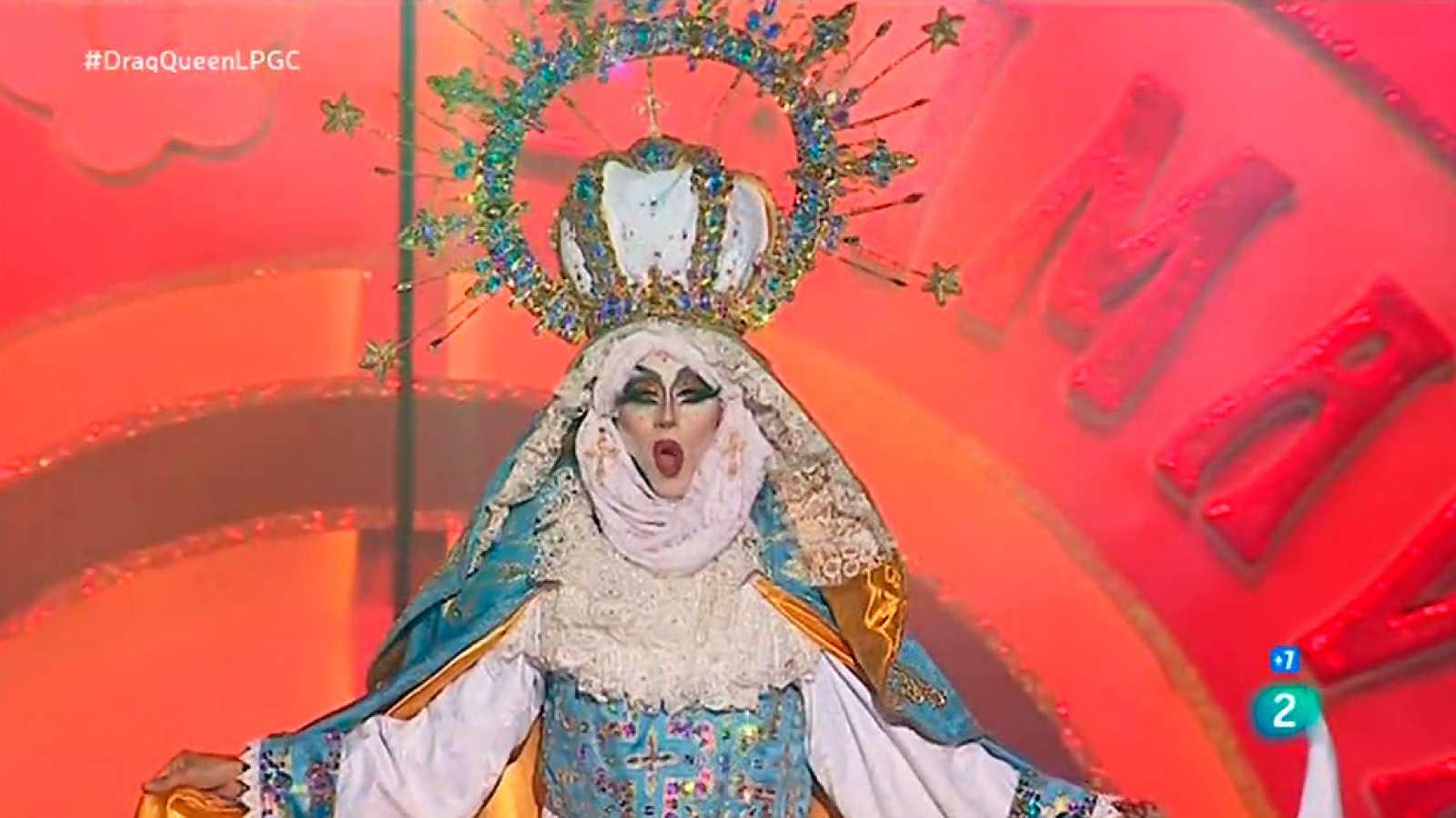 Drag Sethlas, la actuación ganadora de la Gala Drag Queen del Carnaval de Las Palmas 2017
