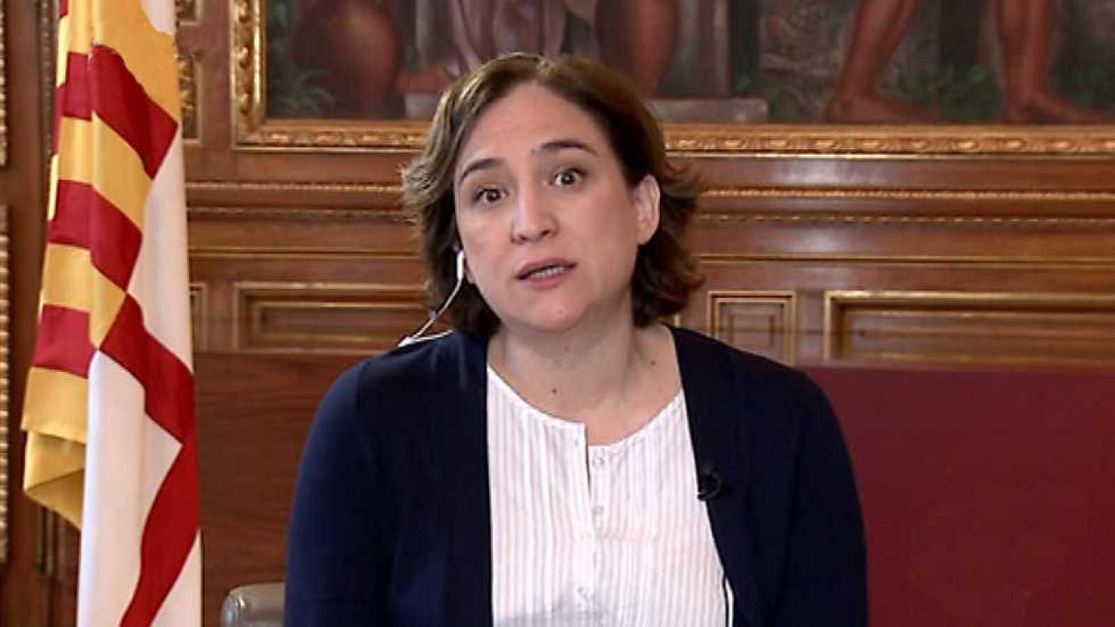 Los desayunos de TVE - Ada Colau, alcaldesa de Barcelona, y Constantí Serrallonga, director general de Fira de Barcelona - ver ahora