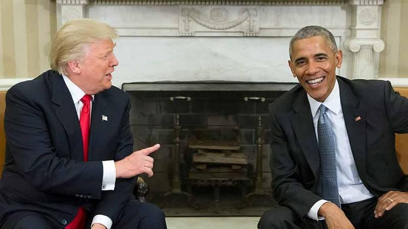 Trump acusa a Obama de intervenir sus teléfonos durante las elecciones