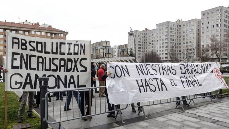 Juzgan en Burgos a doce jóvenes por los disturbios de 2014 en Gamonal