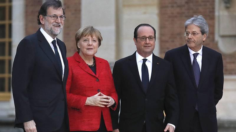 """Merkel y Hollande apuestan por la UE de """"varias velocidades"""" para el futuro post-Brexit"""