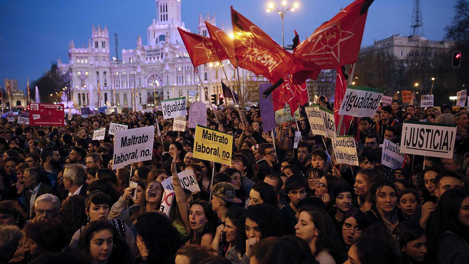 Día de la Mujer: 49 ciudades españolas se suman a las marchas en todo el mundo por la igualdad