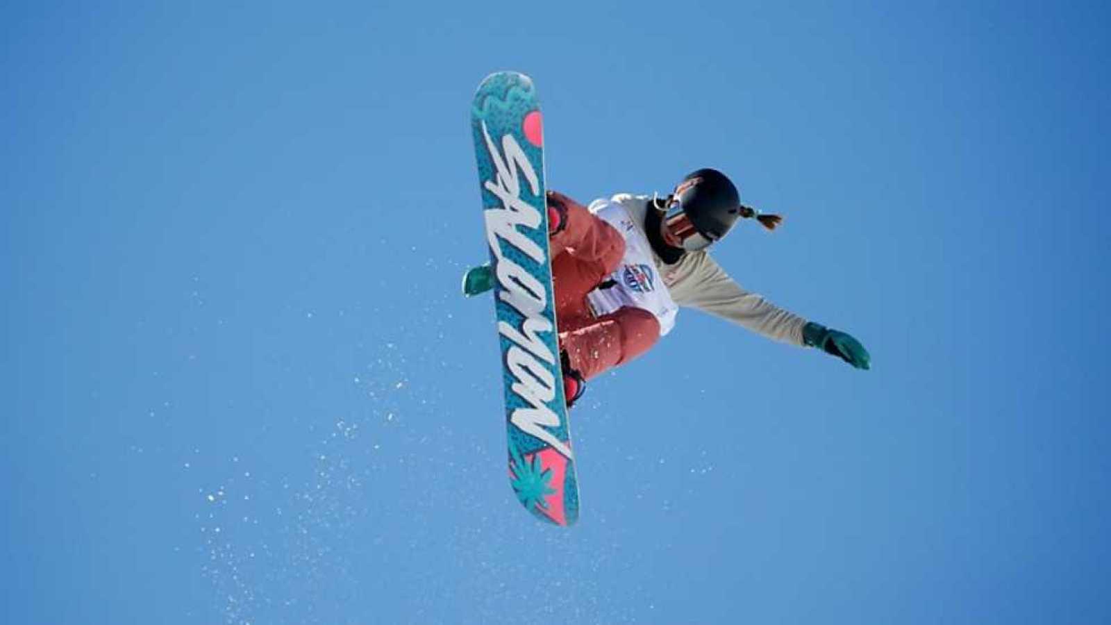 Campeonato del Mundo Snowboard y Freestyle - Snowboard Halfpipe. Clasificatorias Femeninas