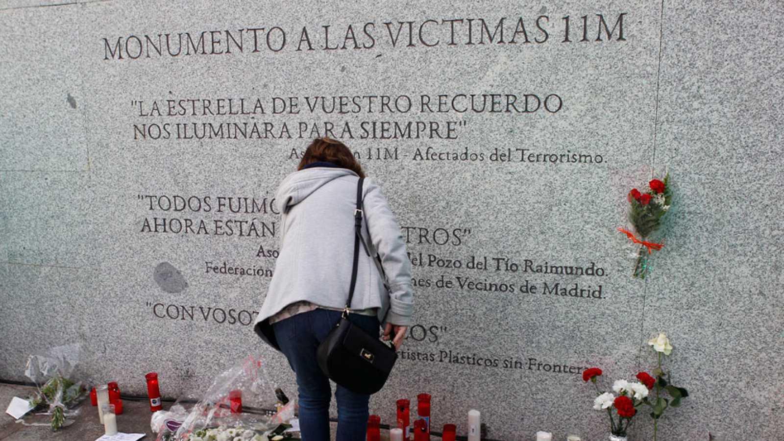 Madrid rinde homenaje a las víctimas del 11M trece años después