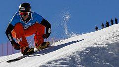 Lucas Eguibar, subcampeón del mundo de boardercross