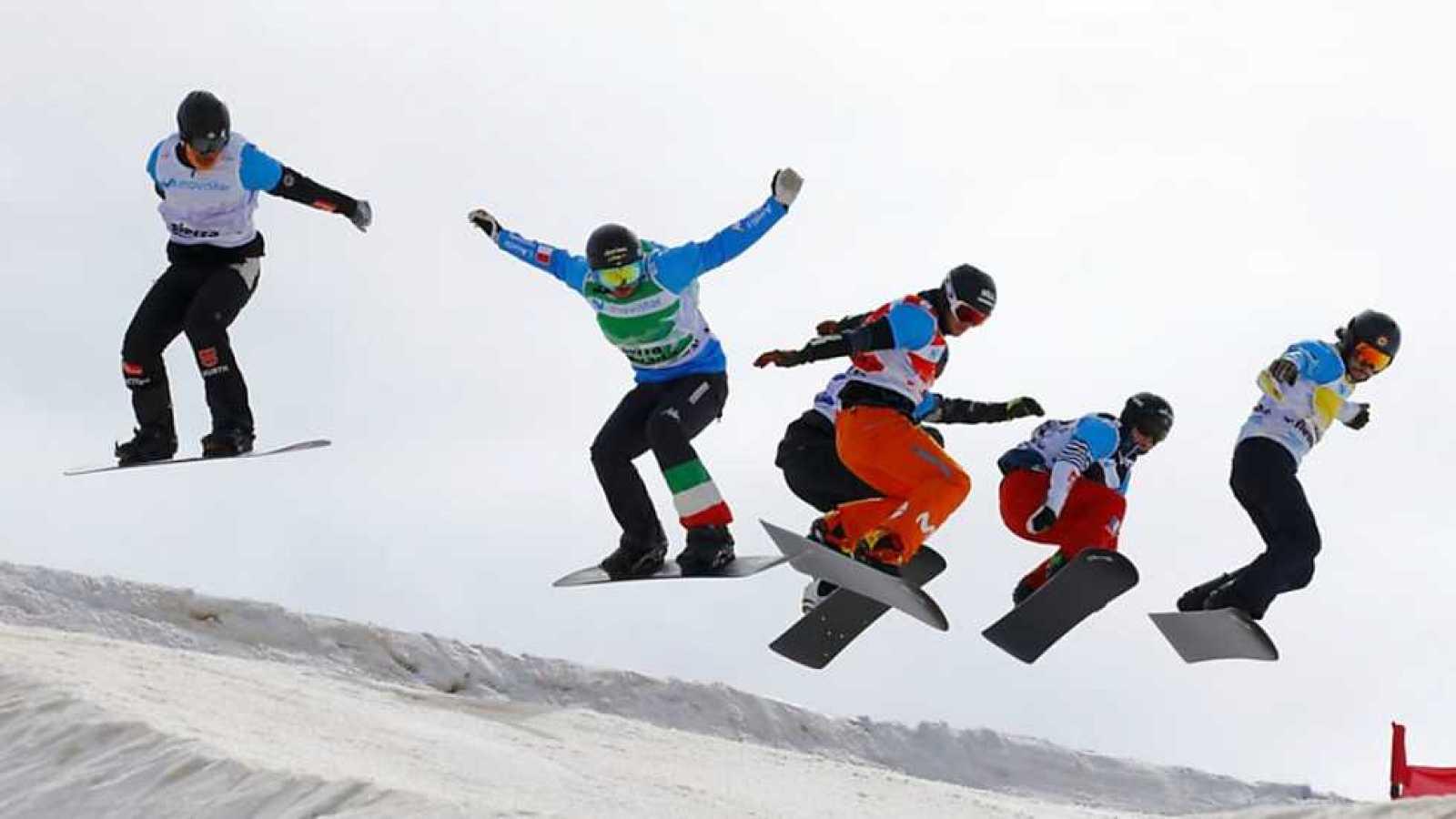 Campeonato del Mundo Snowboard y Freestyle - Snowboard Cross. Finales - ver ahora
