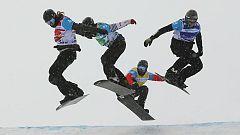 España, plata en boardercross por equipos