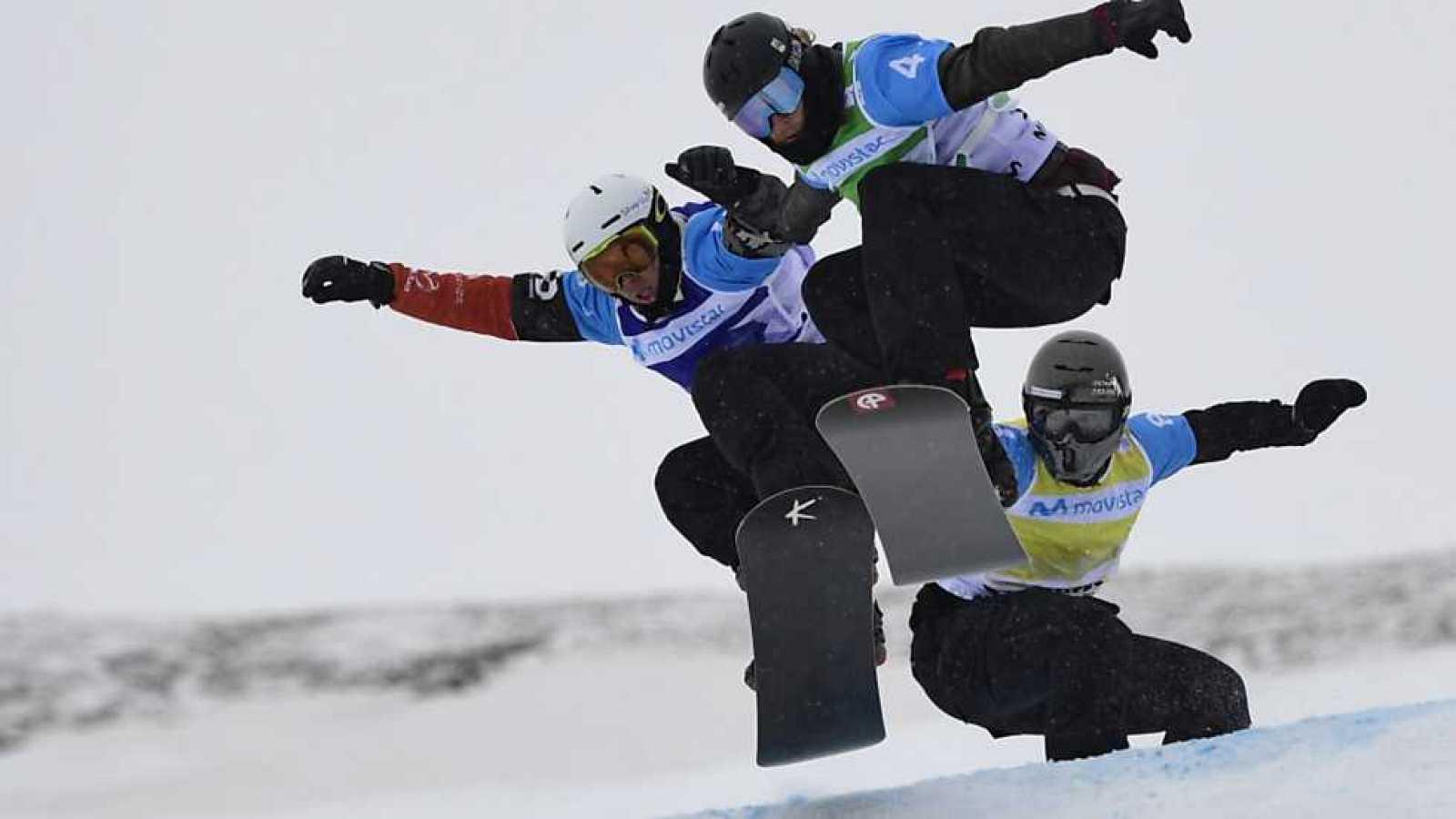 Campeonato del Mundo Snowboard y Freestyle - Snowboard Cross. Finales Equipos - ver ahora