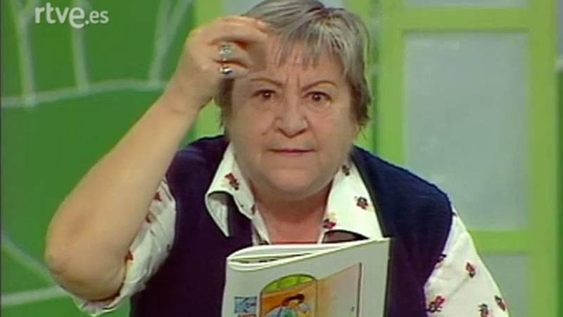 Gloria Fuertes en 'La cometa blanca' (1981)