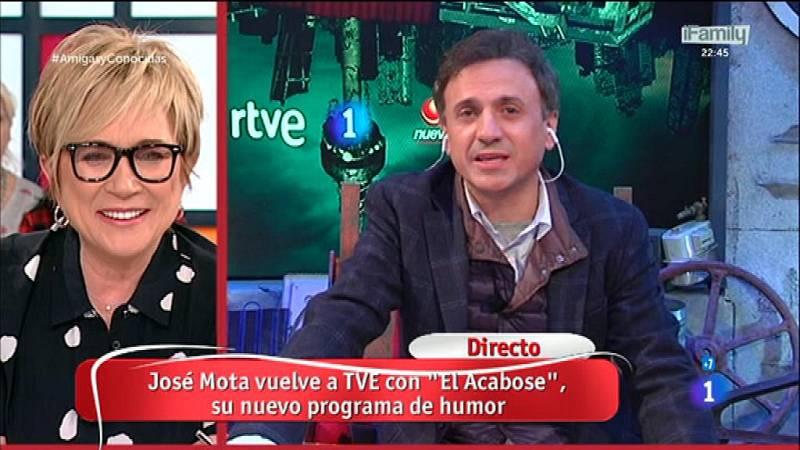 """José Mota estrena """"El acabose"""" este miércoles en La 1"""