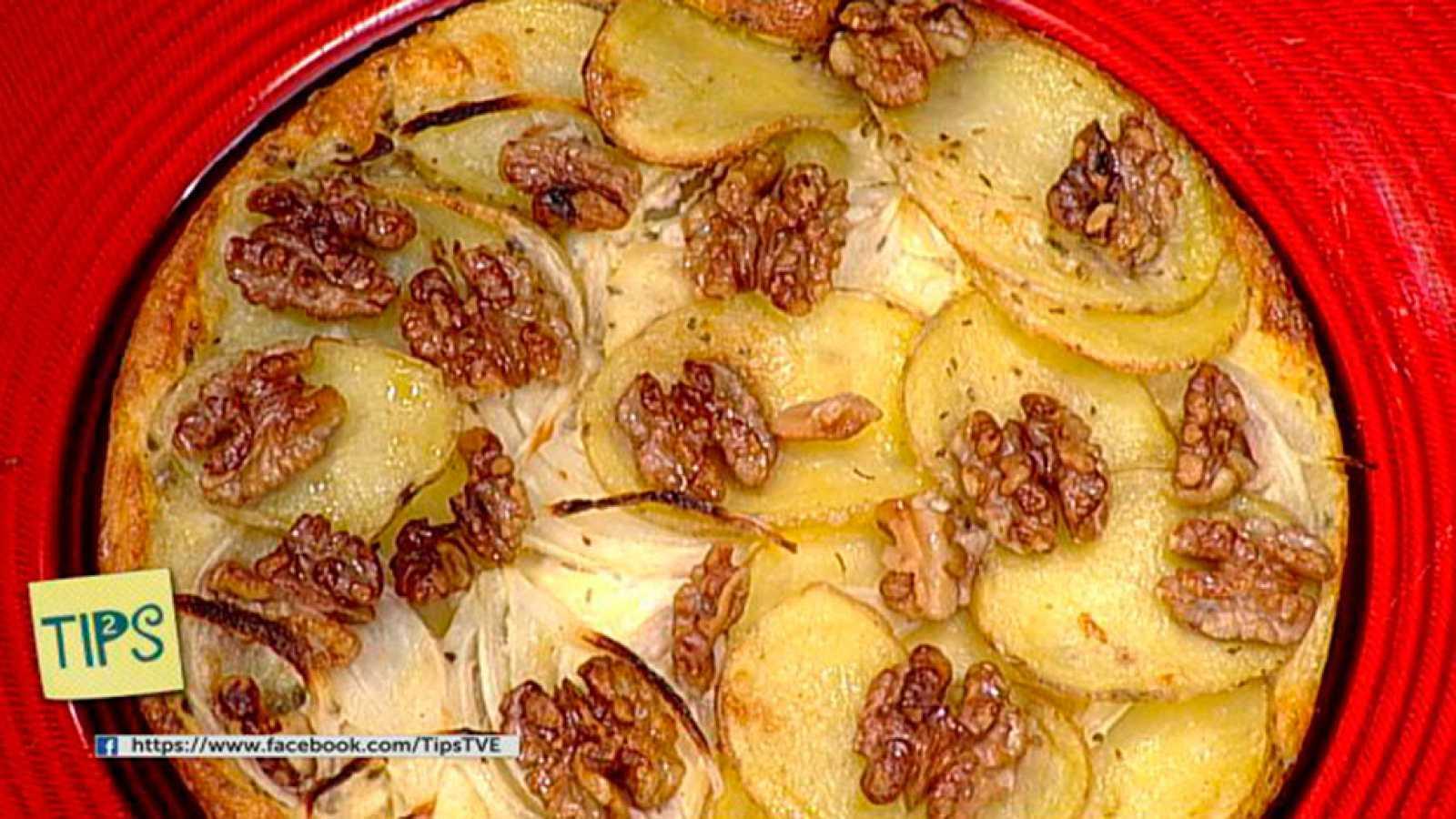 TIPS - Cocina - Gratén de patatas y nueces