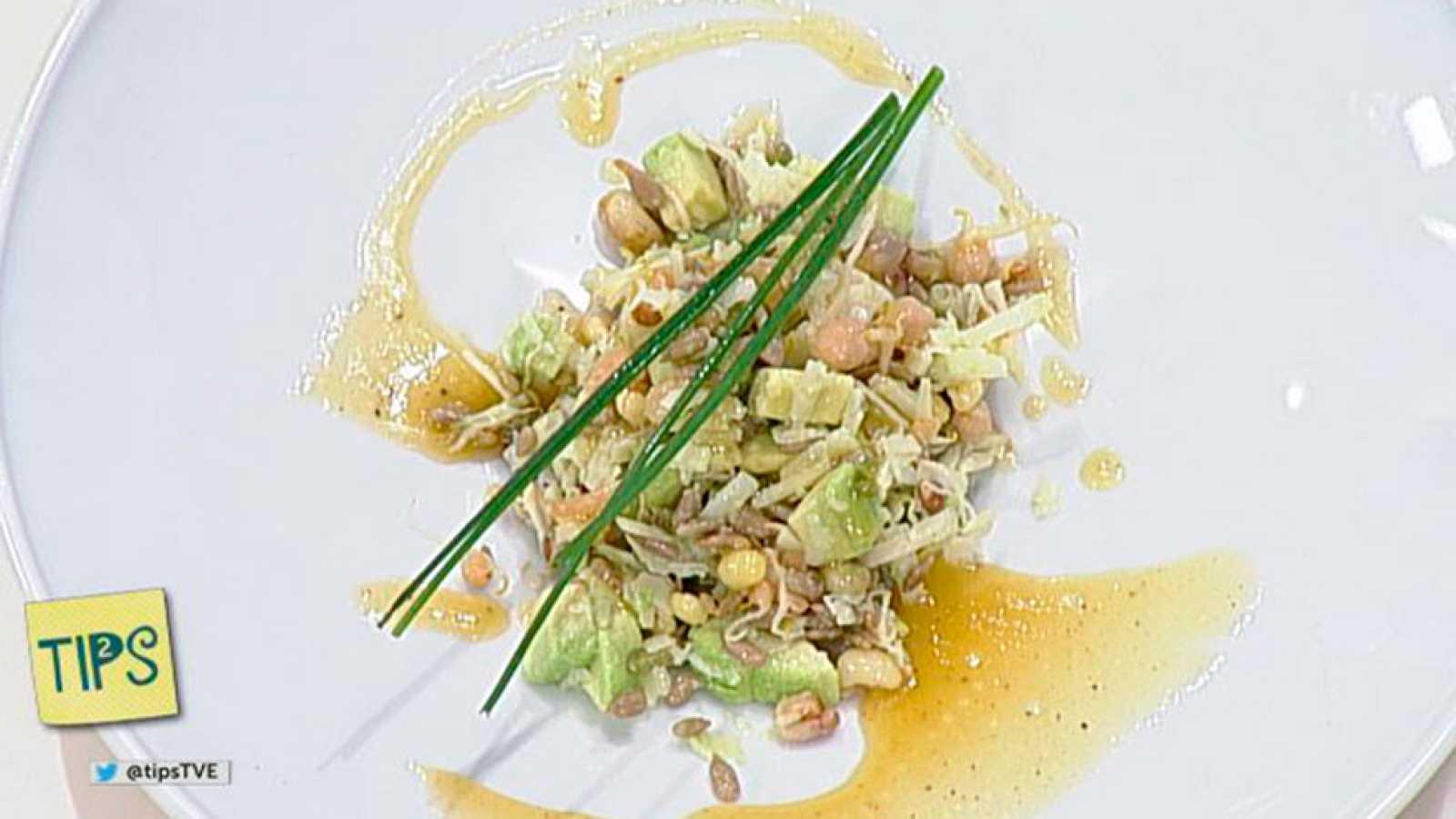 TIPS - Cocina - Ensalada de germinados y pipas de girasol