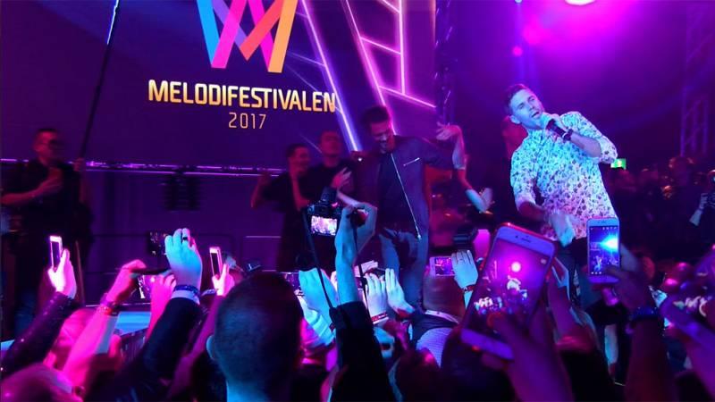 Dentro del Melodifestivalen: el programa de música que paraliza Suecia