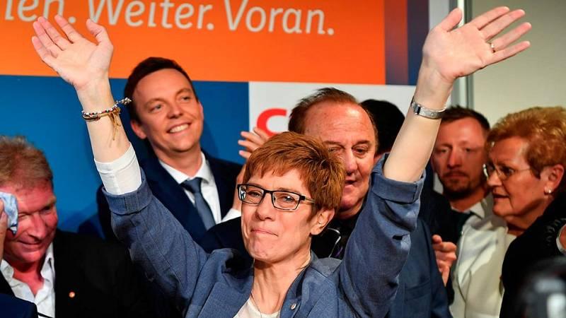 Alemania - La CDU de Merkel gana las regionales del Sarre y defiende su posición frente a Schulz