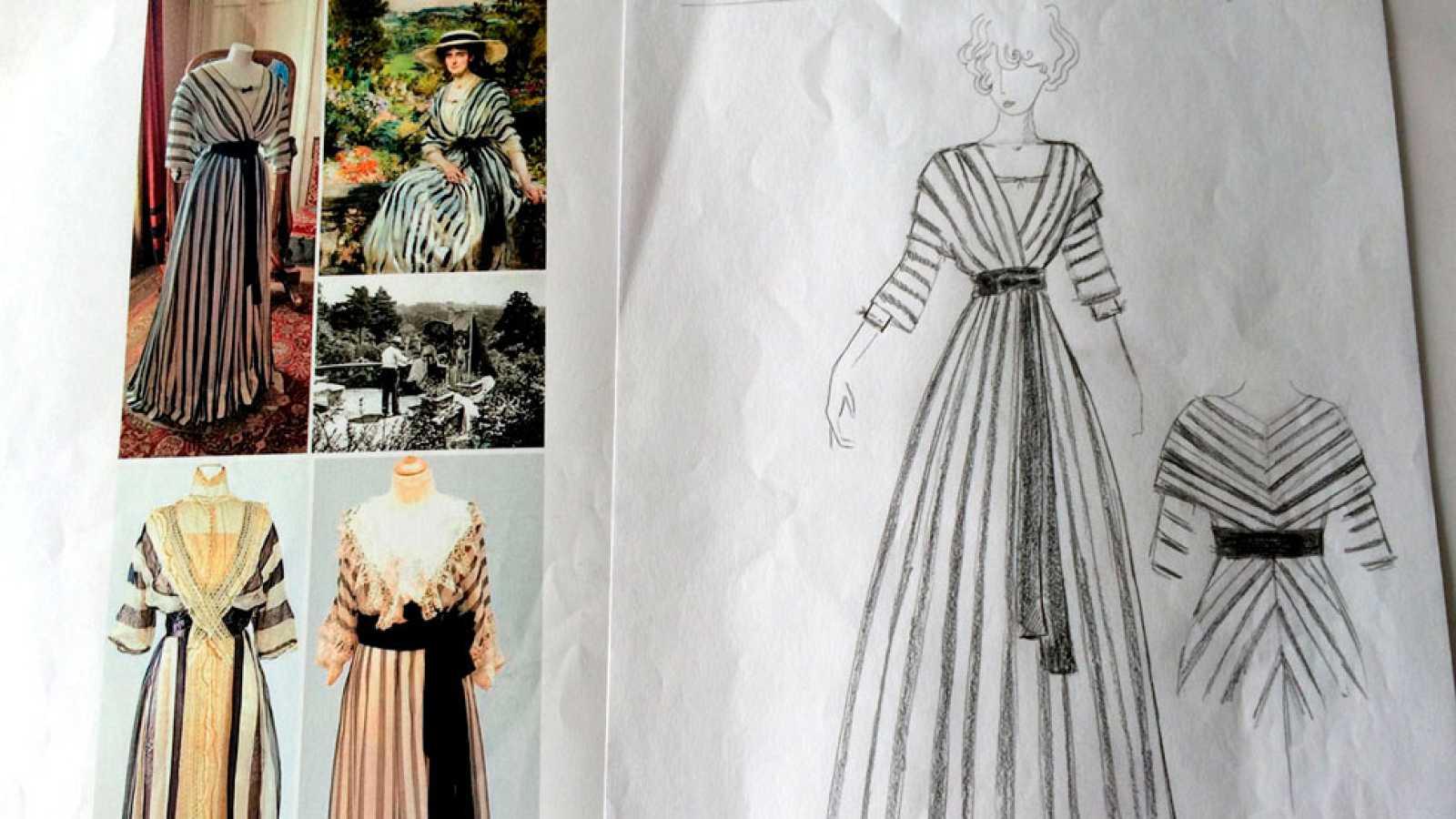 Timelapse: el vestuario de 'Acacias 38' estrena armario