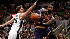 Los Spurs de Gasol arrollan a los Cavaliers