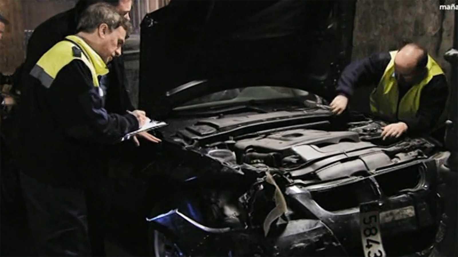 José Mota salva a un coche en estado crítico