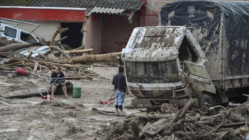El Gobierno colombiano ha declarado el estado de calamidad en Mocoa