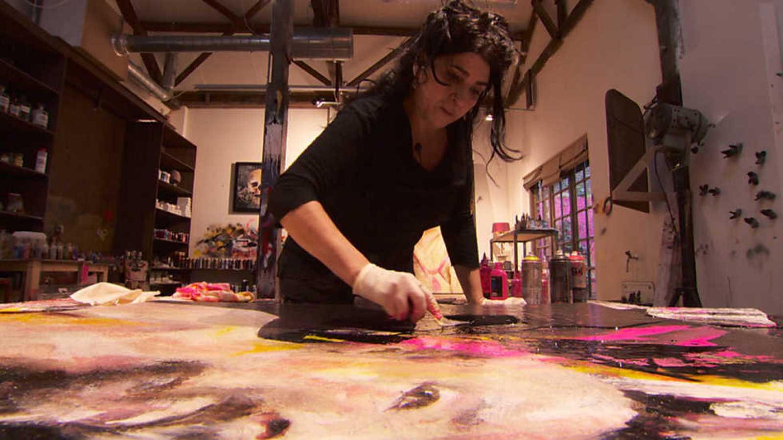 Crónicas - Lita Cabellut: el lenguaje de los colores - ver ahora
