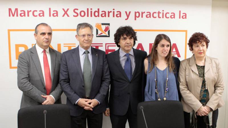 """Las ONG presentan su campaña para que los contribuyentes marquen la """"X solidaria"""""""