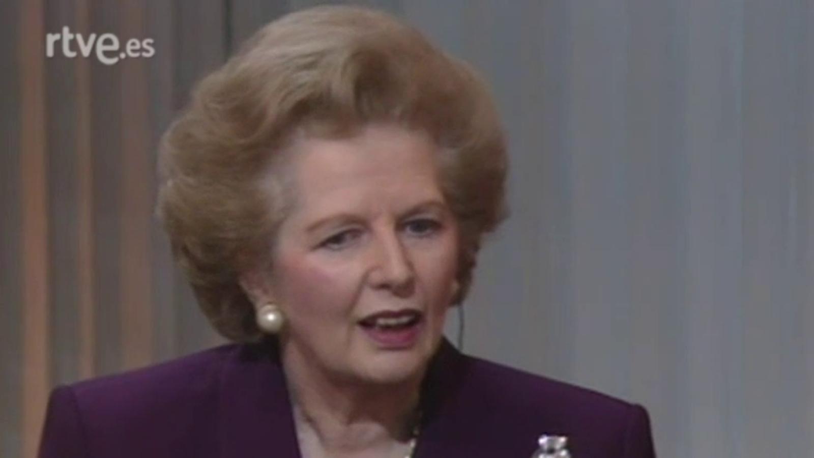Primero izquierda - Margaret Thatcher