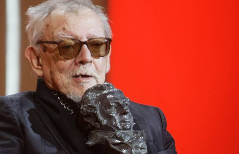 Jesús Franco recoge el Goya de Honor