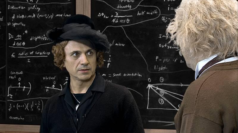 El Acabose - Calleusteai Albert Einstein y Niels Bohr