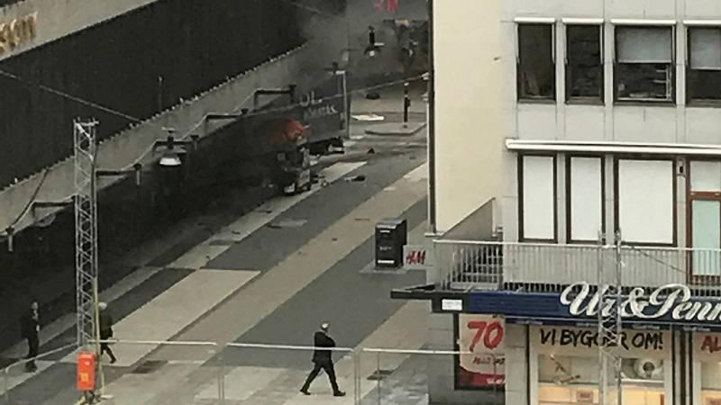 """El primer ministro sueco: """"Es un atentado terrorista horrible"""""""