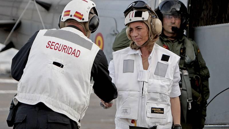 Carme Chacón, la primera ministra de Defensa