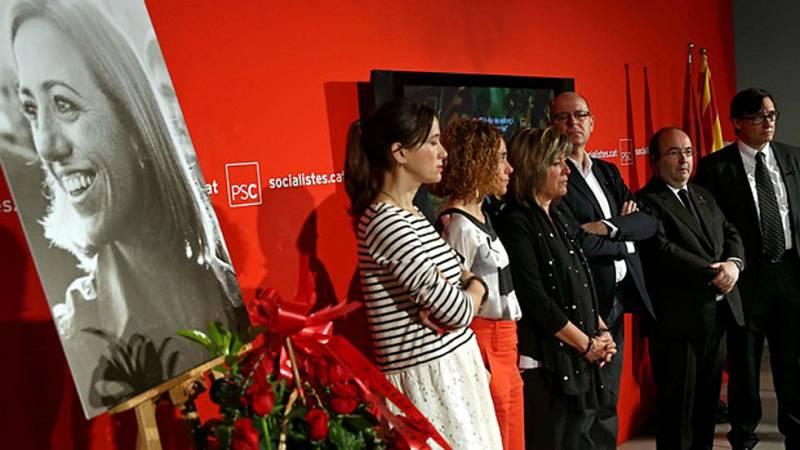 Muere Carme Chacón: La clase política despide en Ferraz a la primera ministra de defensa