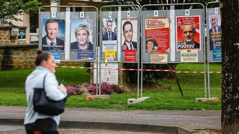 Máxima igualdad entre los principales candidatos a las presidenciales francesas