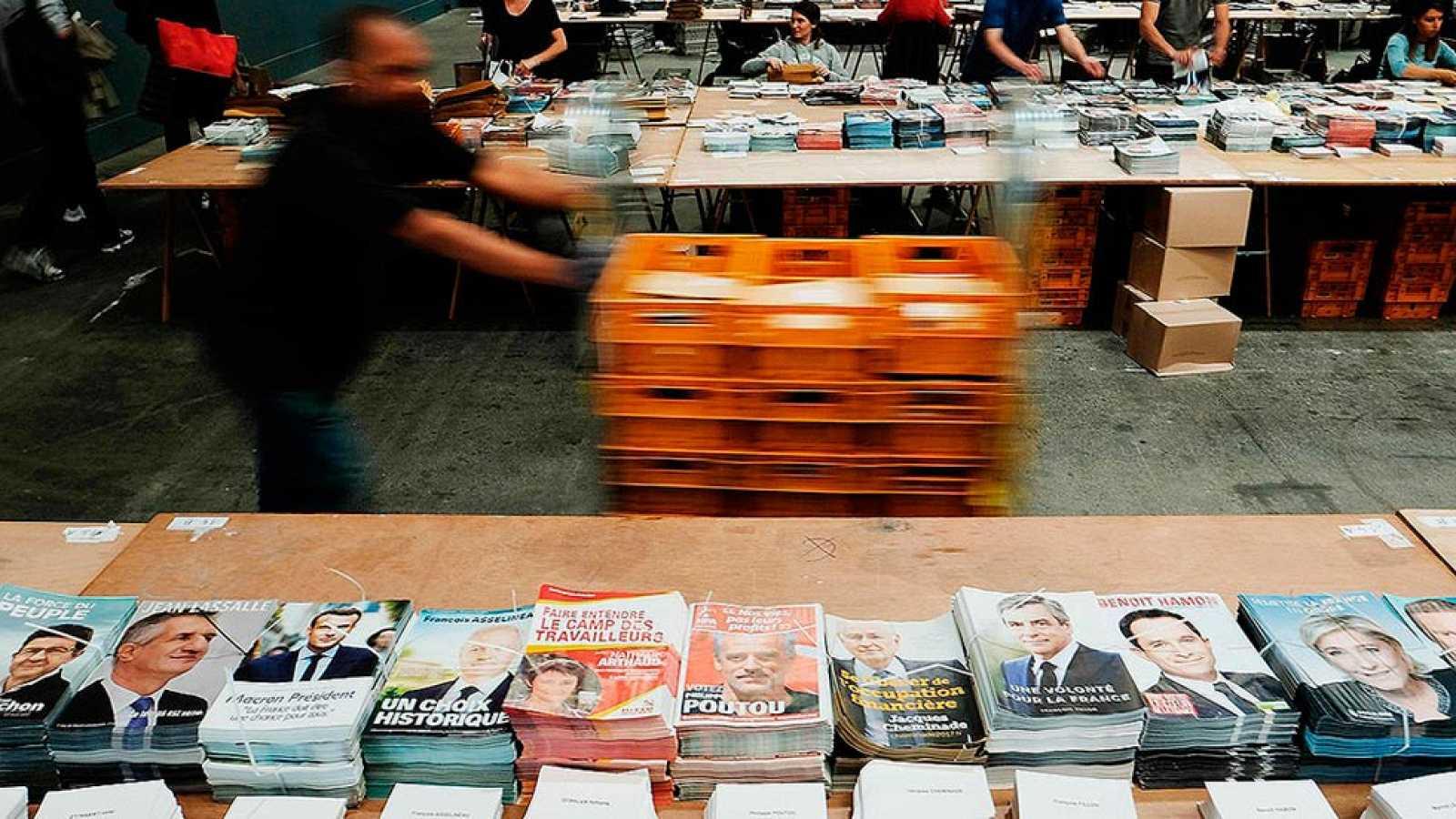 Los principales candidatos a la presidencia de Francia exhiben sus diferencias en sus programas electorales