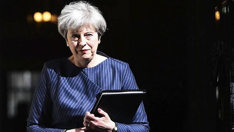 May anuncia elecciones anticipadas en Reino Unido