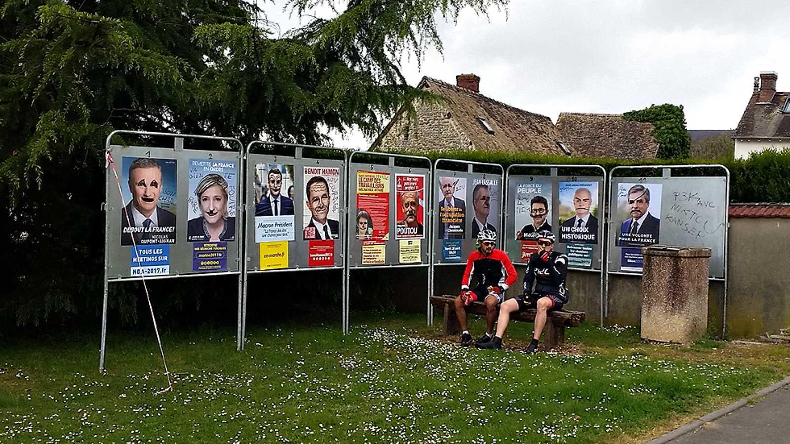 Máxima igualdad entre los candidatos a las presidenciales francesas