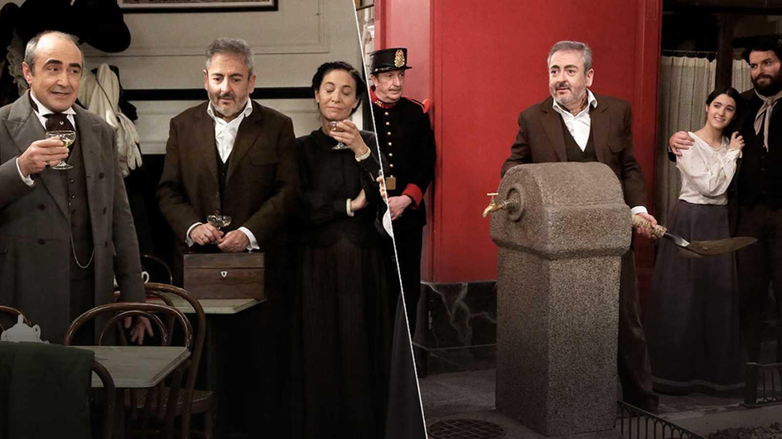 Así han celebrado los actores de la serie los 500 capítulos de 'Acacias 38'