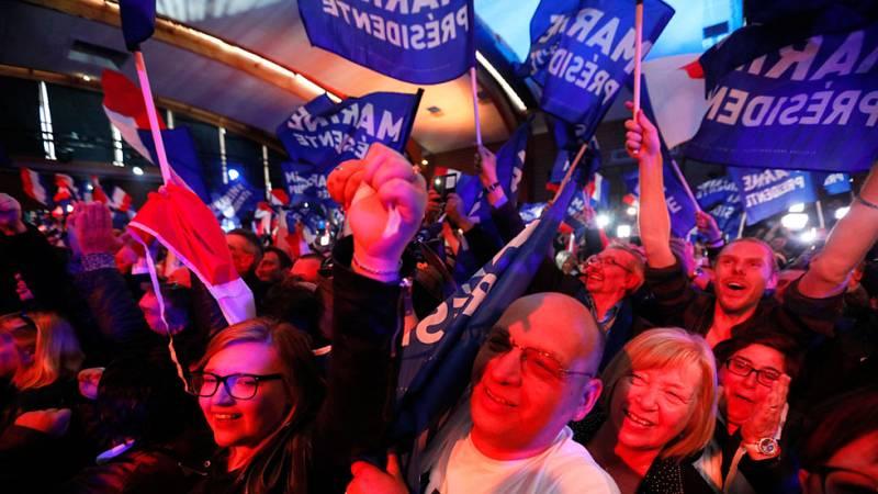 Los franceses sabían que no iba a ser una jornada electoral típica