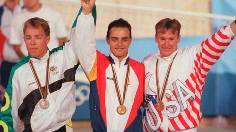 Barcelona 92. XXV Aniversario. José Manuel Moreno, oro en ciclismo en pista - ver ahora
