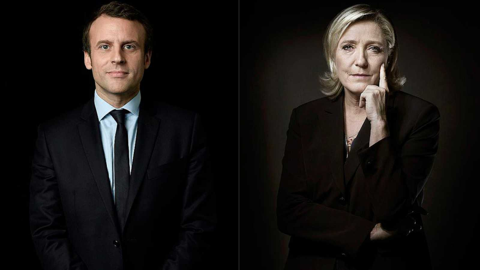 Enmanuel Macron y Marine LePen se medirán en la segunda vuelta de las elecciones presidenciales francesas