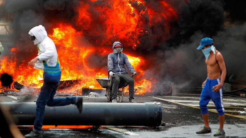 Tres muertos y al menos siete heridos en una nueva jornada de protestas en Venezuela